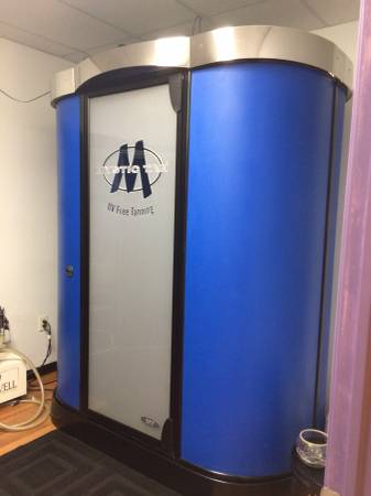Mystic Invovation UV Free Tanning Booth